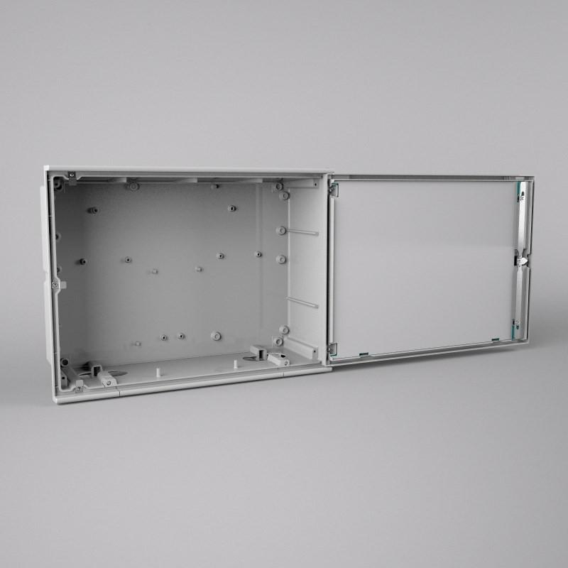 Puertas metalicas para contadores electricos interesting for Caja contador agua