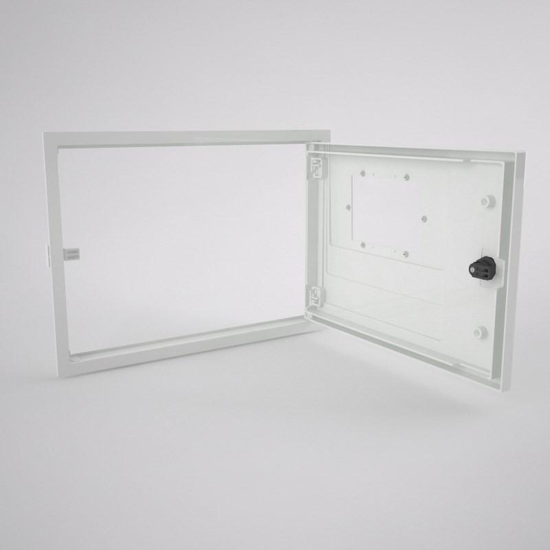 M-H2O-0-t/1ml Conjunto de marco y puerta para contador de agua ...