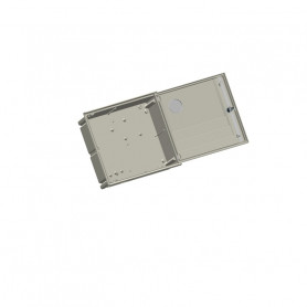 APM-1-1ml-c Flush mount cabinet IP43 with 1 inspection window