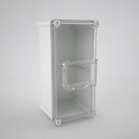 C1-TR-4 Boîte compléte en polyester pour ICP avec hublot tr-4