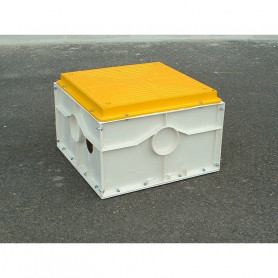 AM-400AENA-50 Air beacon inspection chamber 500x400x400 with fundition cover