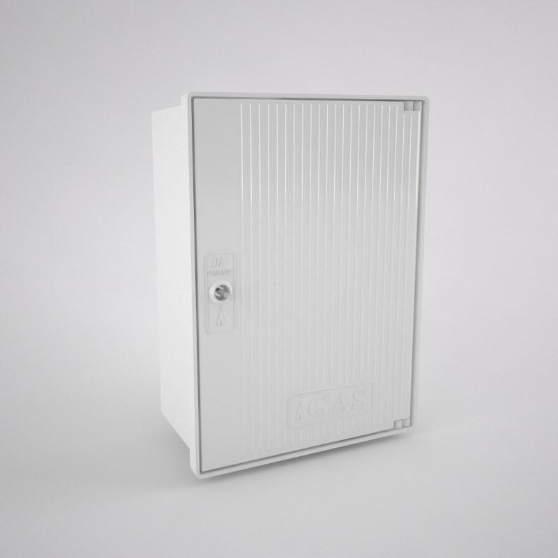 GAS-0v-c Armario vacío para contador de gas (1 abonado) 350 x 480 x 192