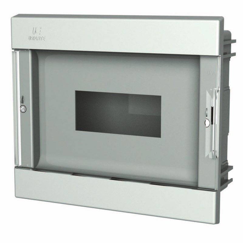 CEPT-40 Flush mount ABS box for ICP with transparent door - Uriarte Safybox