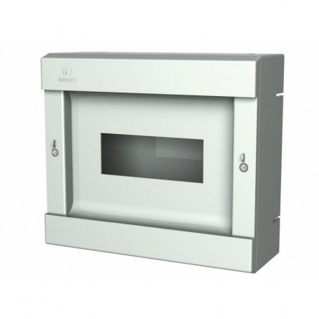 PS-10 Boîte encastrable en ABS Jusqu´à 10 disjoncteurs sans porte
