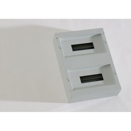 PS-28 Boîte encastrable en ABS Jusqu´à 28 disjoncteurs sans porte