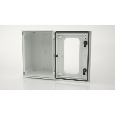 BRES-43p Monobloc industrial enclosure IP66 with window