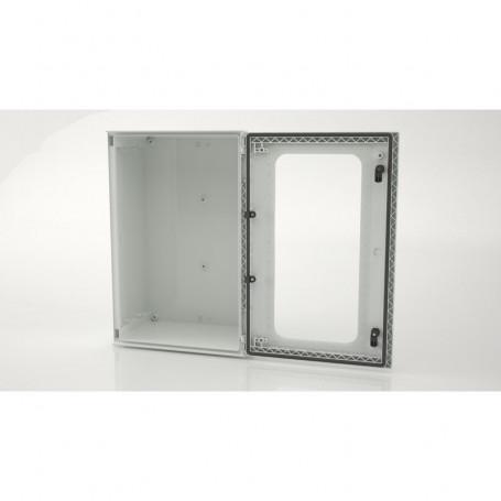 BRES-64p Monobloc industrial enclosure IP66 with window