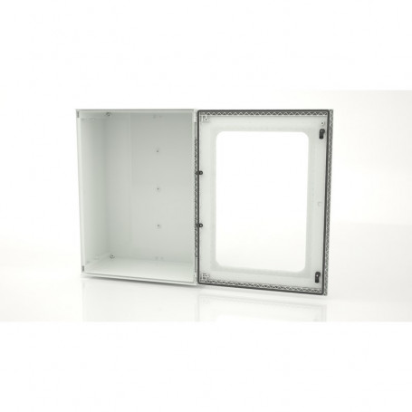 BRES-86p Monobloc industrial enclosure IP66 with window
