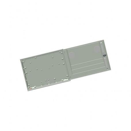 APM-2-2ml-c Coffret encastré dans le mur IP43 avec 2 hublots et 3 points de fermeture