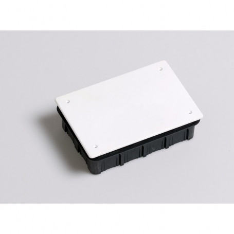 CE160x100 ABS distribution box, for flush mounting